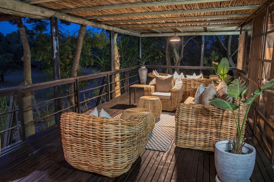 Relax at our privately owned lodge on the edge of Lake St Lucia